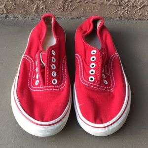 Women Levi's shoes red size 7.5